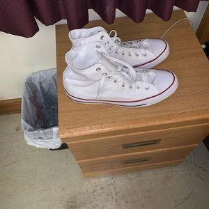 Brand new all white converse